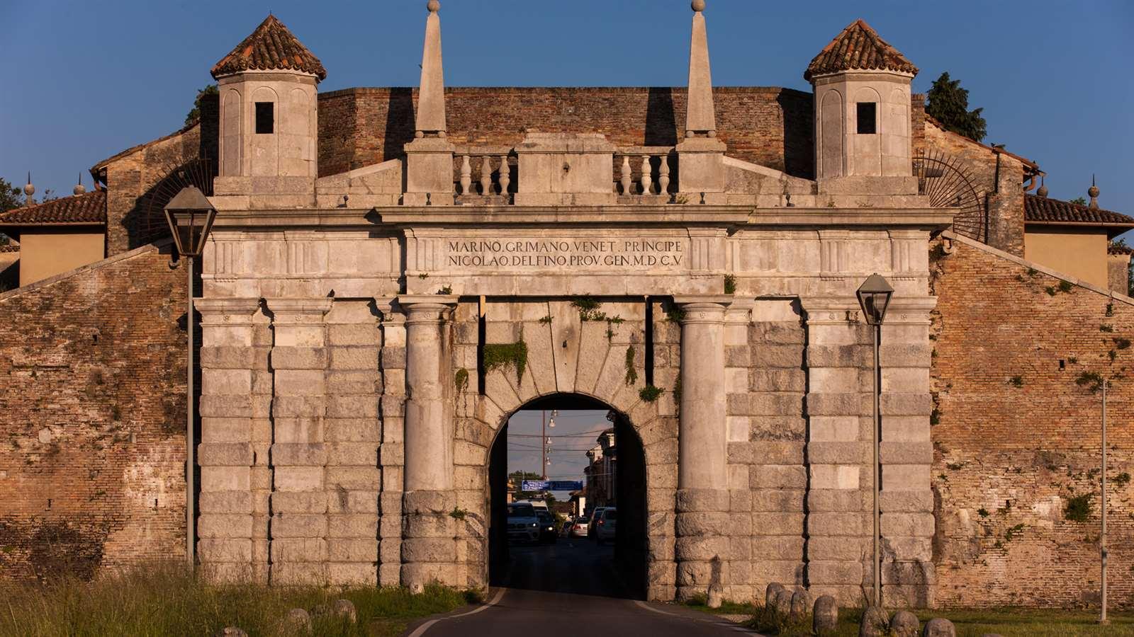 Le tre porte monumentali di palmanova la nostra italia - Foto di porte ...